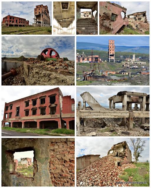Diverses vues de la mine soviétique