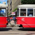 Les trams électriques, omniprésents !