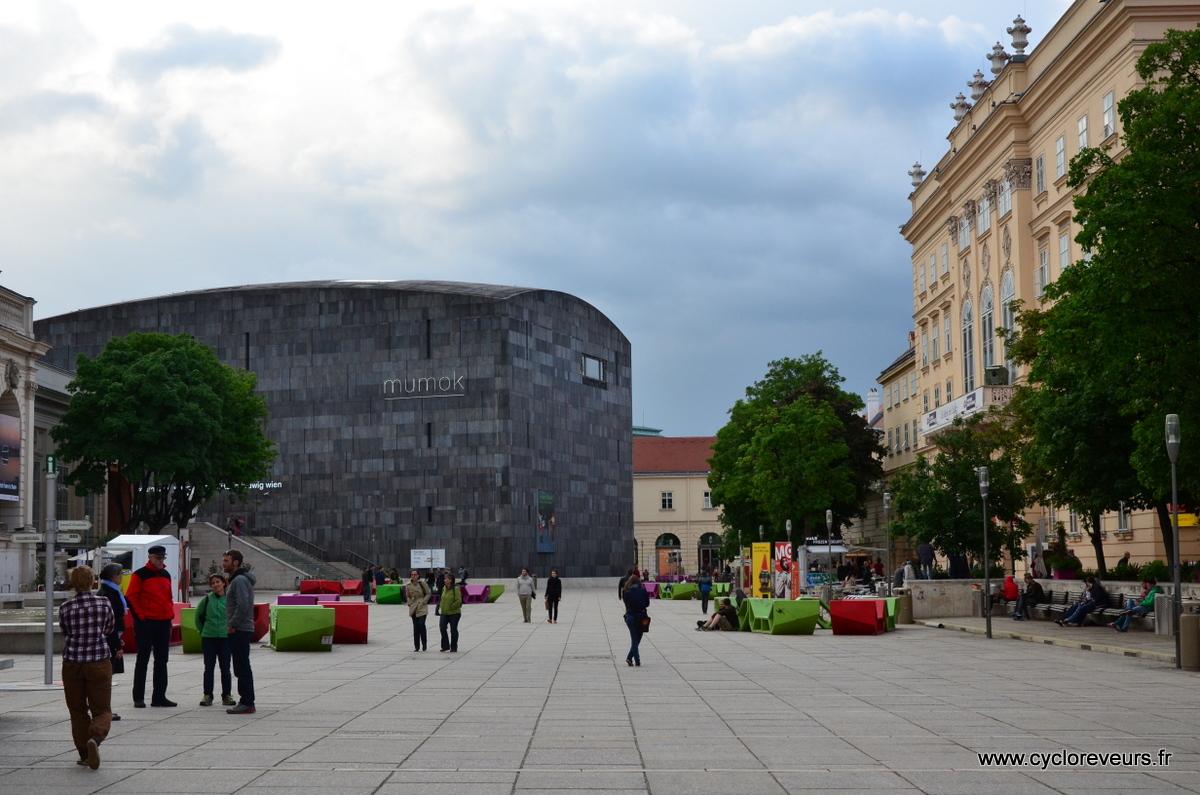 Quartier des musées, avec de nombreuses expos... pour une autre fois !?