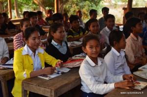 Eleves du Cambodge