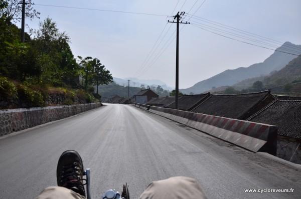 La photo n'a pas d'autre intérêt en soi à part être la première photo prise en roulant avec le reflex !