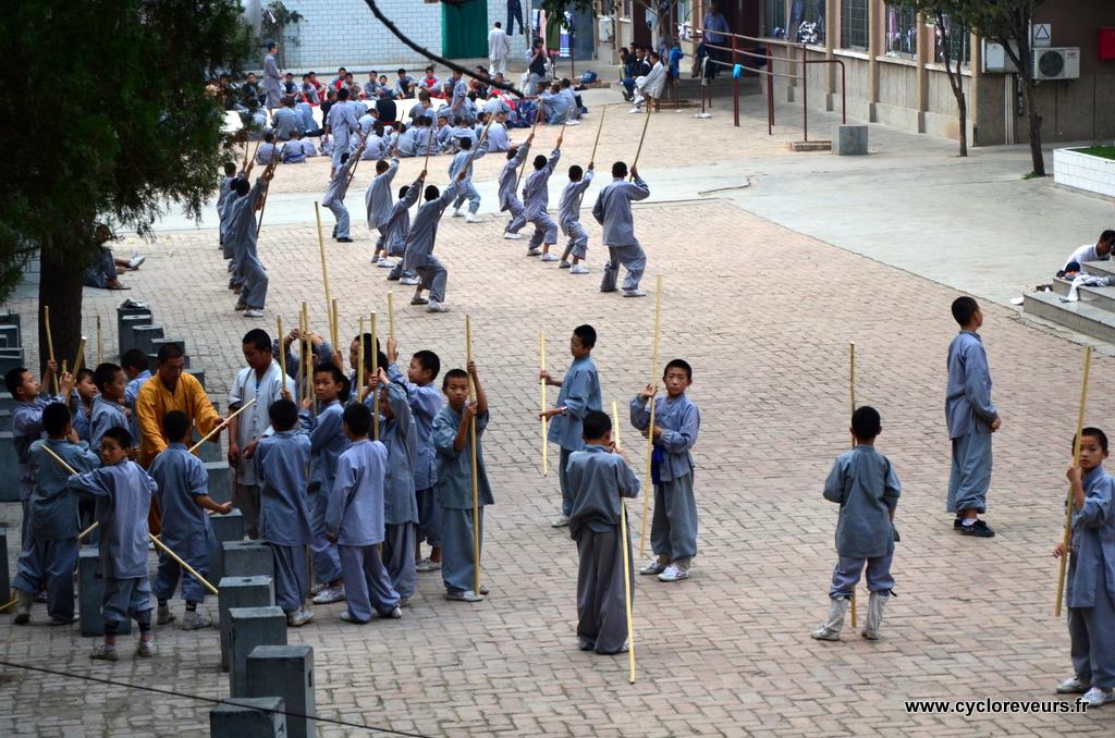 Une autre école d'arts martiaux Shaolin