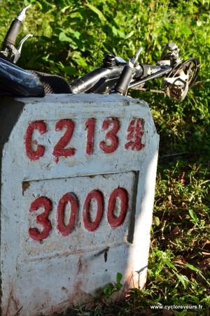 Ah, cette G213 ! Nous l'avons rejoint au kilomètre 2 000 et quelques pour la quitter le lendemain des 3 000, belle perf !