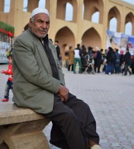 Un homme en Iran