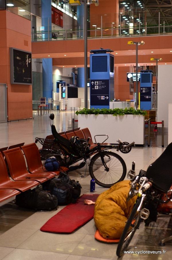 Dormir à l'aéroport, c'est sympa !