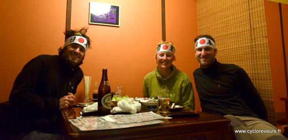 Restaurant japonais avec les petits malins !