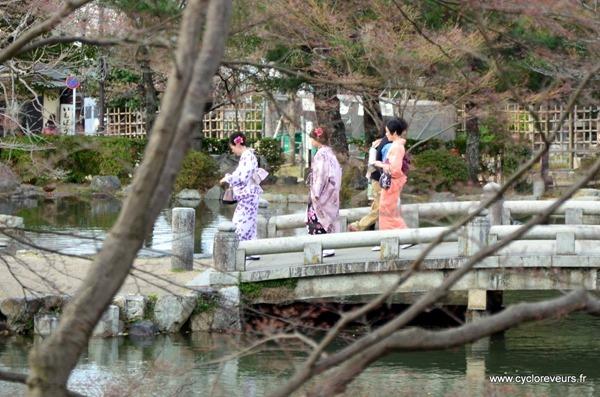 promenade en kimono