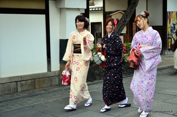 kimono dans les rues