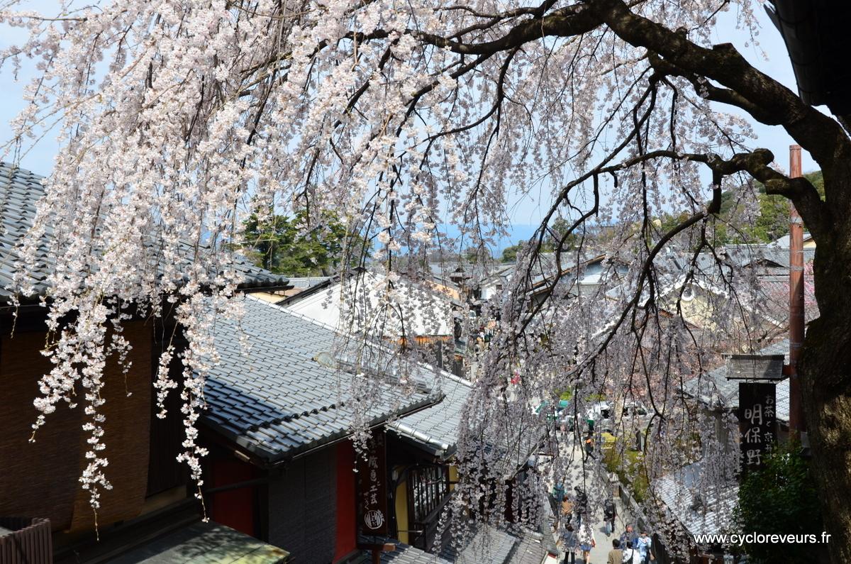 A Kyoto, dans les petites ruelles touristiques