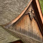 Les toits en lames de bois