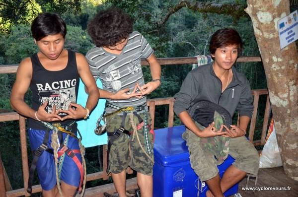 Guides - Gibbon experience - Huay Xay - Bokeo - Laos