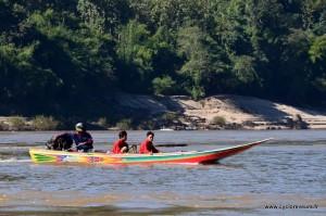 Fast boat sur le mékong