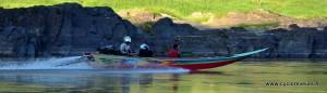 Fast Boat sur le Mekong