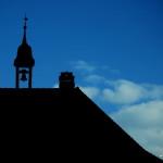 Clocheton en haut de la maison principale