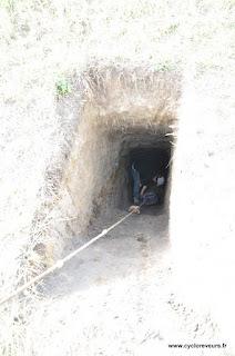 Ils ont attrapé un mongol sous terrain !