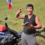 Le guide de conversation Anglais/Mongol est pratique pour avoir un début d'échange !