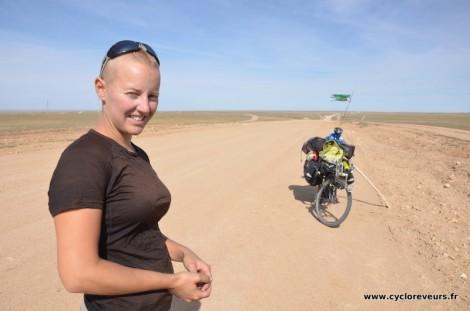Apercu des pistes du désert du Gobi