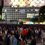 Le croisement de Shibuya