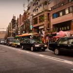 Encore des embouteillages, avec les taxis noirs, les pires !