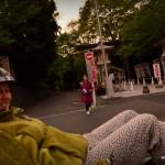 Sortie de sanctuaire Shinto : il y en a assez régulièrement dans la ville, pour aller faire les prières pour le boulot !