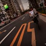 Signalisation au sol, grande spécialité du Japon, parfois ils en font même un peu trop !